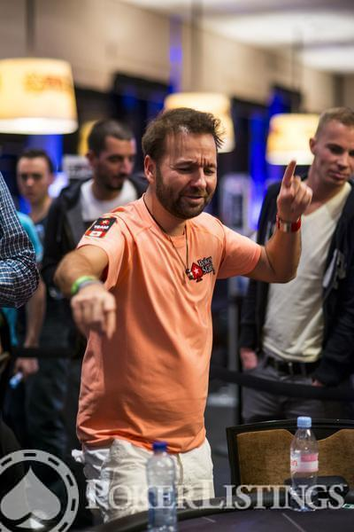 Daniel Negreanu2013 WSOPE celebration