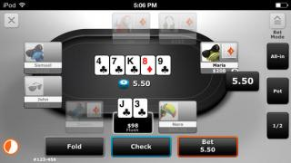 Party Poker Mobile Bord